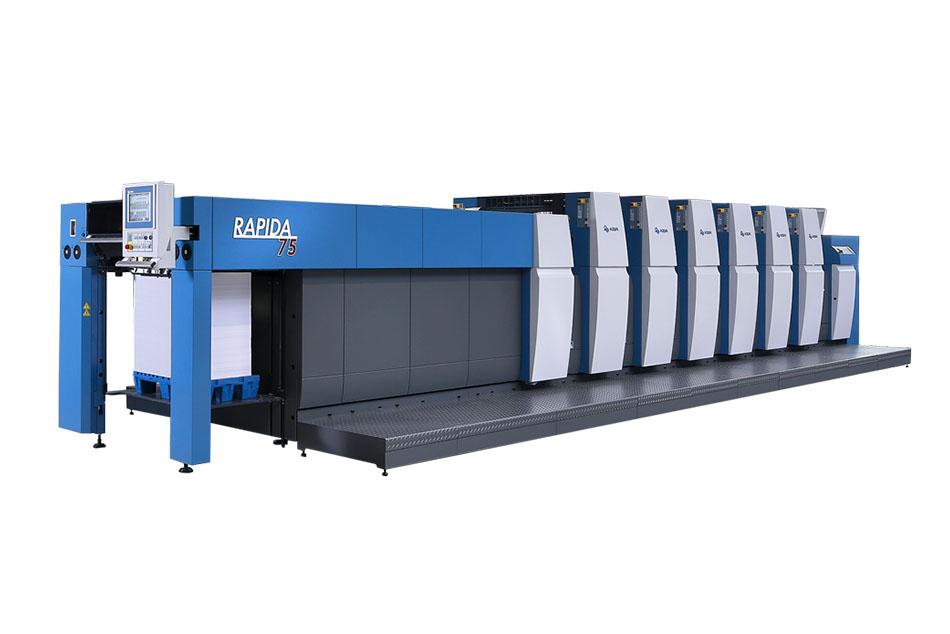 Tiskový ofsetový stroj KBA Rapida 75
