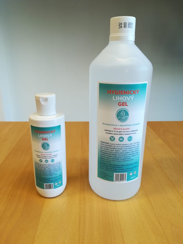 Hygienický gel